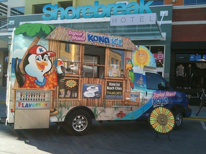 Kona Ice BC created by The Web Refinery