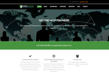 CisoShare By The Web Refinery